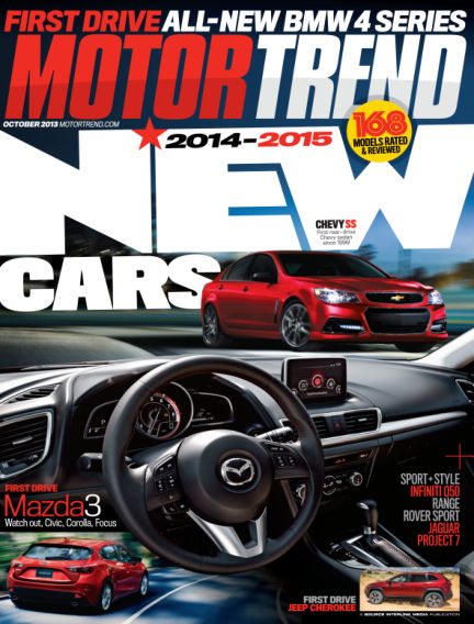 Motor Trend September 10, 2013 00:00