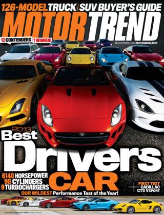Motor Trend November 2013