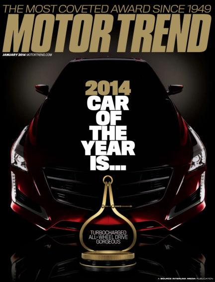 Motor Trend December 03, 2013 00:00