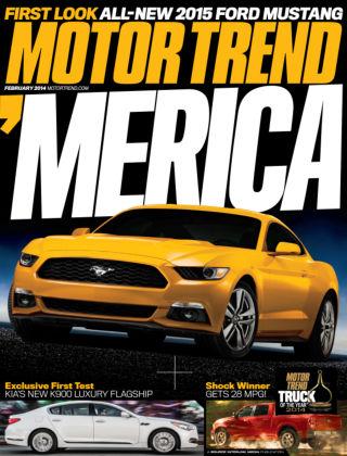 Motor Trend February 2014