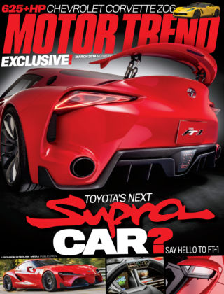 Motor Trend March 2014