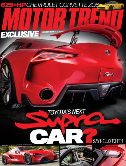 Motor Trend January 28, 2014 00:00
