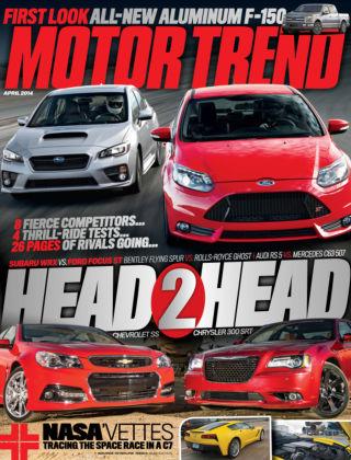 Motor Trend April 2014