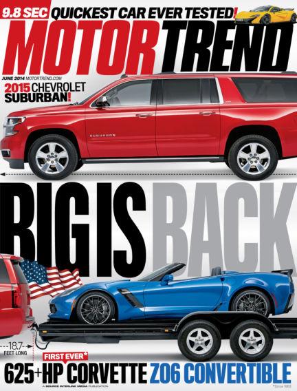 Motor Trend May 02, 2014 00:00