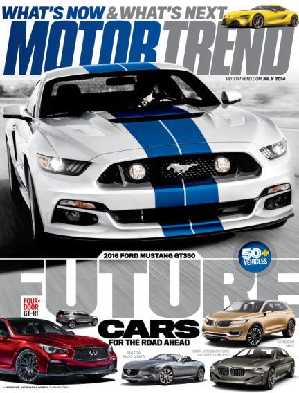 Motor Trend May 30, 2014 00:00