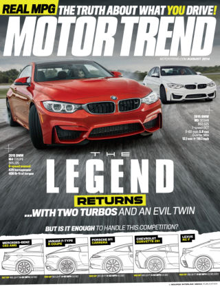 Motor Trend August 2014