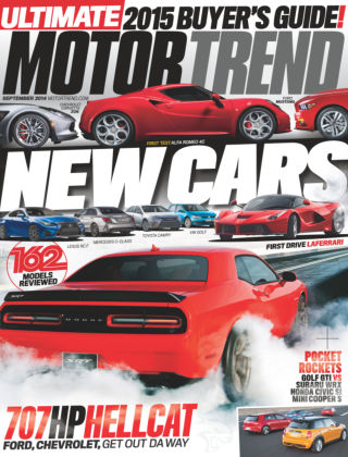 Motor Trend September 2014