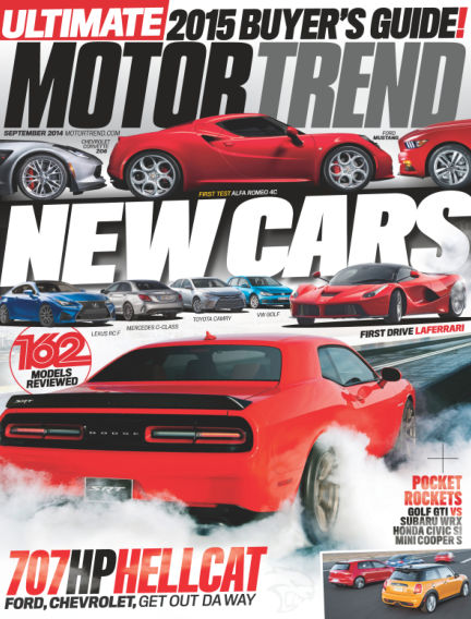 Motor Trend August 01, 2014 00:00