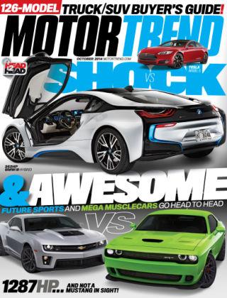Motor Trend October 2014