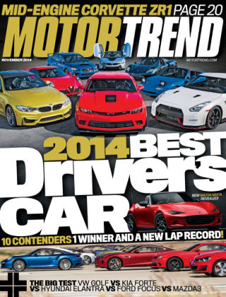 Motor Trend November 2014