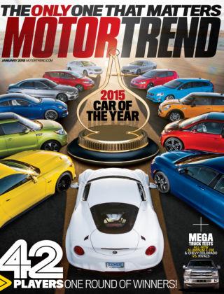Motor Trend January 2015