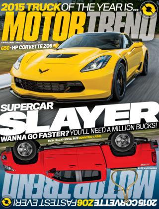 Motor Trend February 2015
