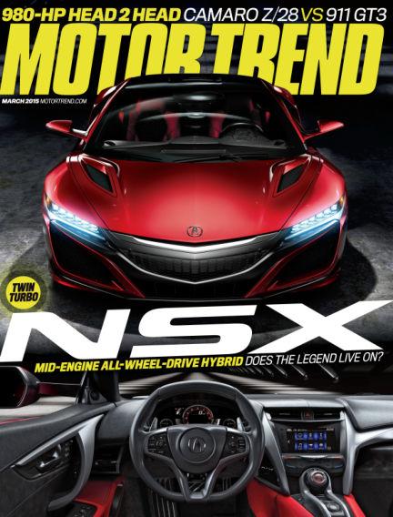 Motor Trend January 23, 2015 00:00