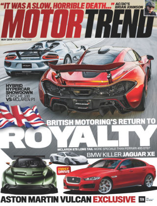 Motor Trend May 2015