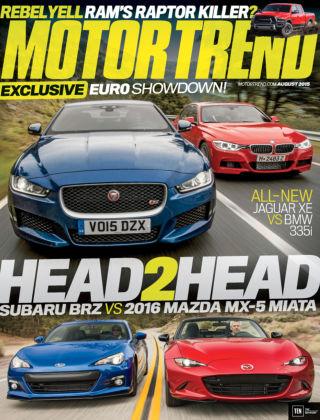 Motor Trend August 2015