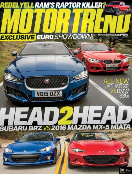 Motor Trend June 26, 2015 00:00