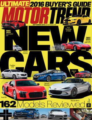 Motor Trend September 2015