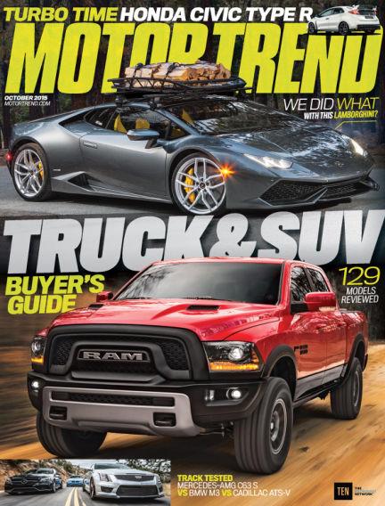 Motor Trend August 28, 2015 00:00