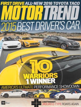 Motor Trend November 2015