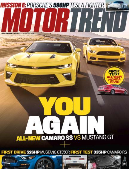 Motor Trend October 23, 2015 00:00