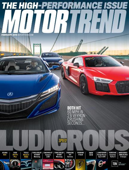 Motor Trend December 25, 2015 00:00