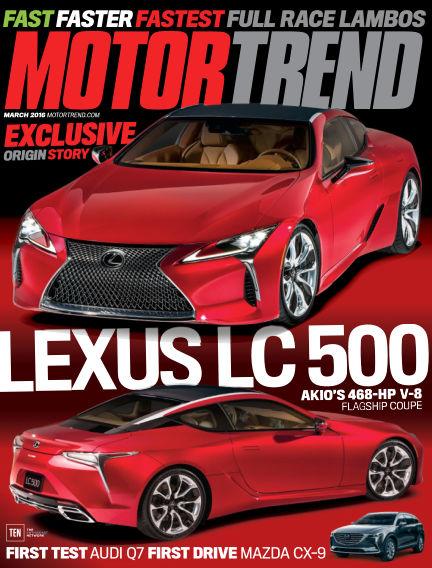 Motor Trend January 22, 2016 00:00