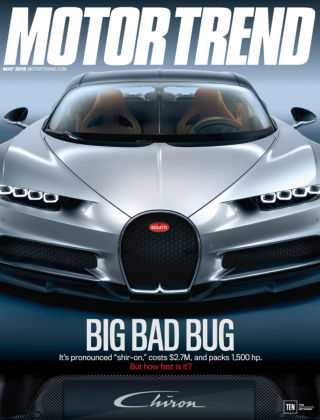 Motor Trend May 2016