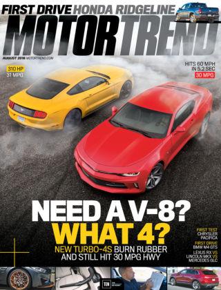 Motor Trend Aug 2016