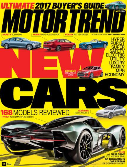 Motor Trend July 22, 2016 00:00