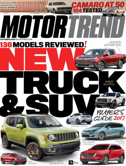 Motor Trend August 26, 2016 00:00