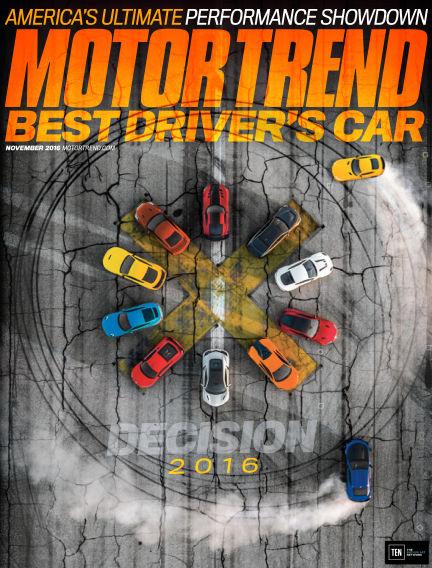 Motor Trend September 23, 2016 00:00
