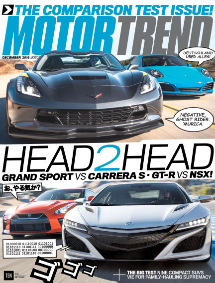 Motor Trend October 21, 2016 00:00