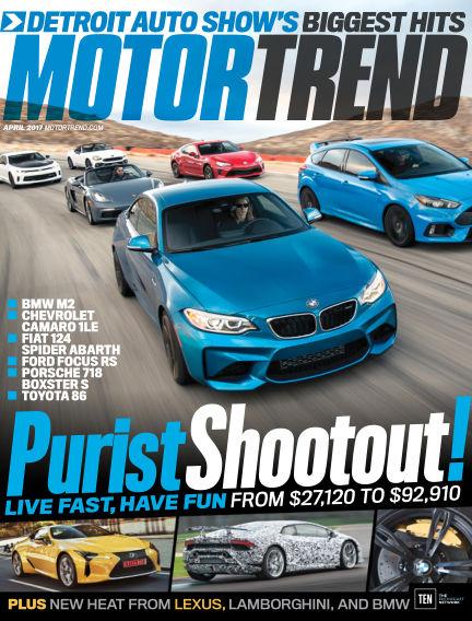 Motor Trend February 24, 2017 00:00