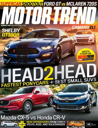 Motor Trend Aug 2017