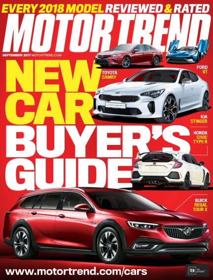 Motor Trend July 21, 2017 00:00