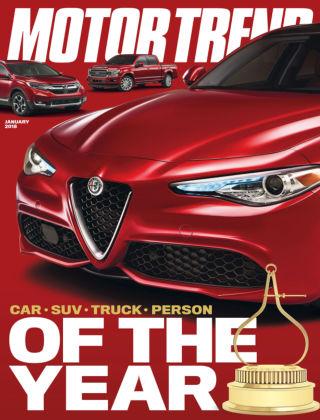 Motor Trend Jan 2018