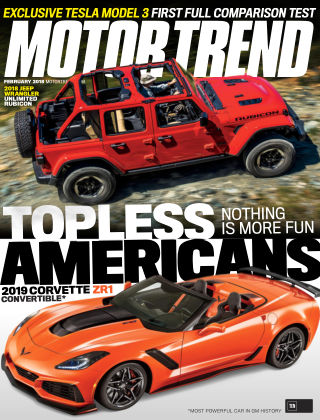 Motor Trend Feb 2018