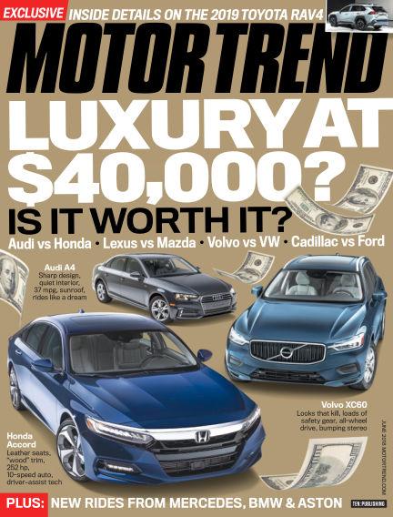 Motor Trend April 27, 2018 00:00