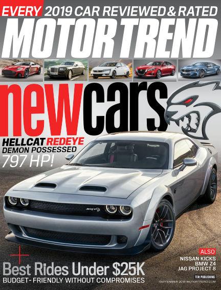Motor Trend July 27, 2018 00:00