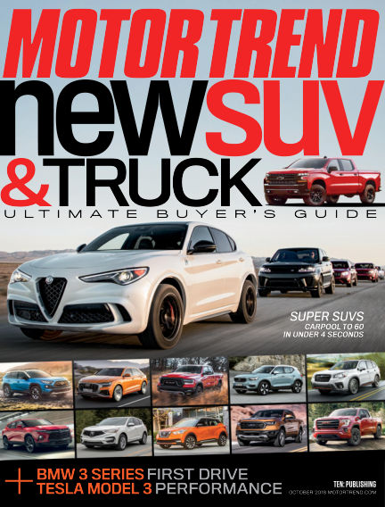 Motor Trend August 31, 2018 00:00