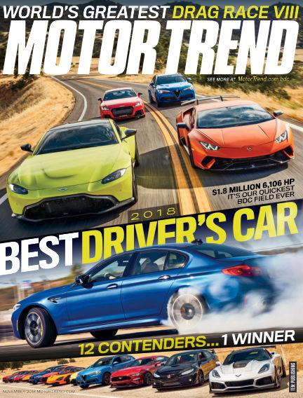 Motor Trend September 28, 2018 00:00
