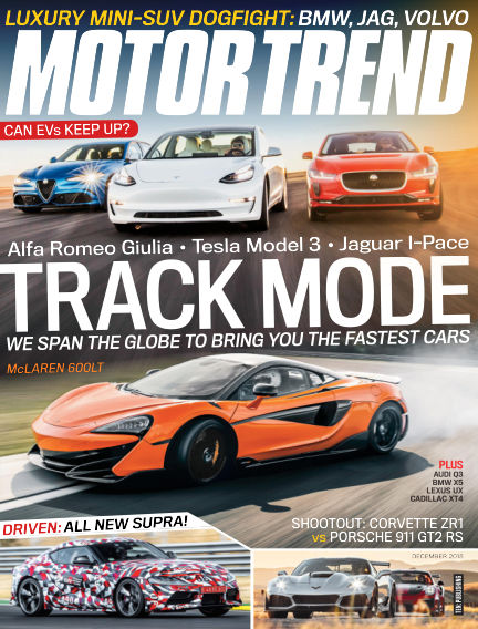 Motor Trend October 26, 2018 00:00