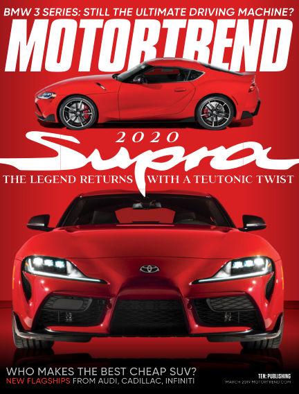 Motor Trend January 25, 2019 00:00