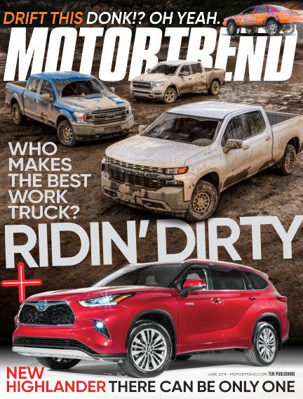 Motor Trend April 26, 2019 00:00