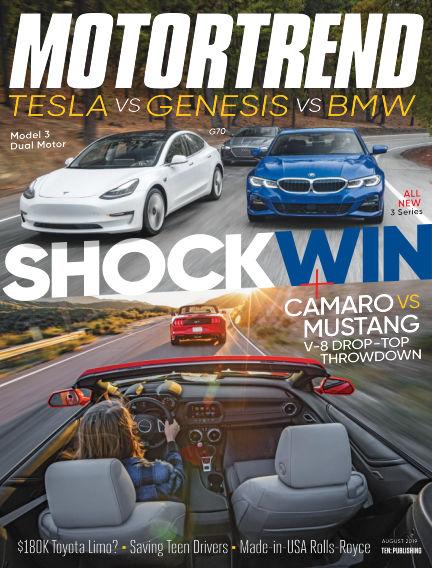Motor Trend June 28, 2019 00:00
