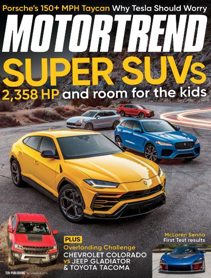 Motor Trend September 27, 2019 00:00