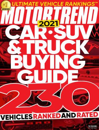 Motor Trend October 2020