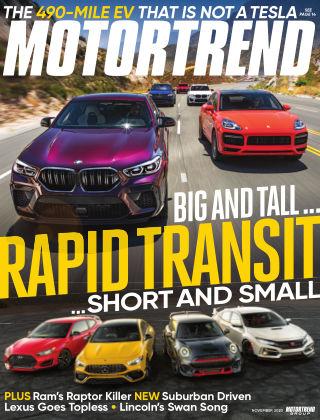 Motor Trend Nov 2020