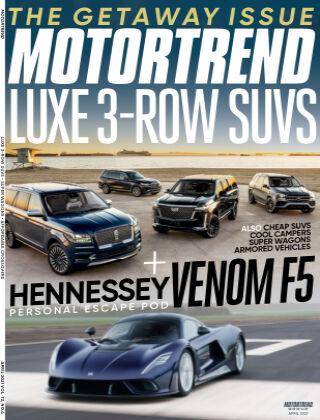 Motor Trend Apr 2021