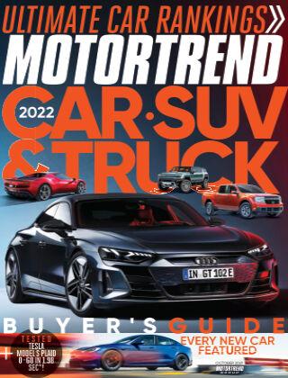 Motor Trend Oct 2021